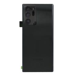 Vitre arrière pour Samsung Galaxy Note 20 Ultra Noir photo 2