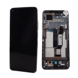 Bloc écran LCD et vitre pré-montés sur châssis pour Xiaomi Mi 10T et Mi 10T Pro Noir_photo1