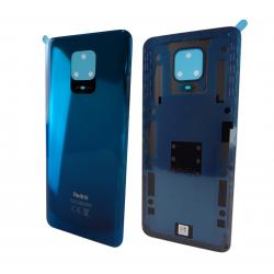 Vitre arrière pour Xiaomi Redmi Note 9S Bleu Aurora