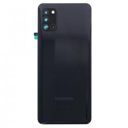 Vitre arrière pour Samsung Galaxy A31 Noir photo 2