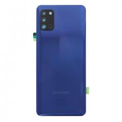 Vitre arrière pour Samsung Galaxy A31 Bleu photo 2