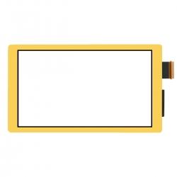 Vitre tactile jaune pour Nintendo Switch Lite