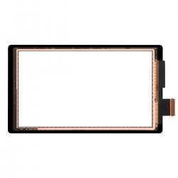 Vitre tactile grise pour Nintendo Switch Lite photo 1