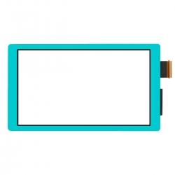 Vitre tactile bleue pour Nintendo Switch Lite