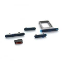 Lot de 4 boutons latéraux + rack SIM pour iPhone 12 Pro Max Graphite