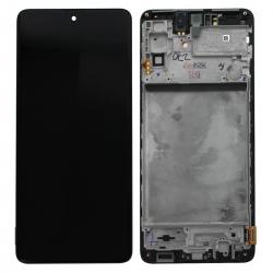 Bloc écran Super AMOLED Plus pré-monté sur châssis pour Samsung Galaxy M51_photo1