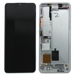 Bloc écran AMOLED et vitre pré-montés sur châssis pour Xiaomi Mi Note 10 lite