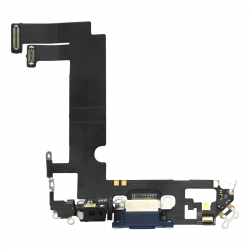Connecteur de charge Lightning pour iPhone 12 mini Bleu photo 2
