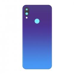 Vitre arrière Bleue compatible pour Xiaomi Redmi Note 7 et Redmi Note 7 Pro photo 2