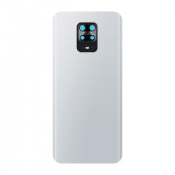 Vitre arrière compatible pour Xiaomi Redmi Note 9S Blanc Glacier photo 2