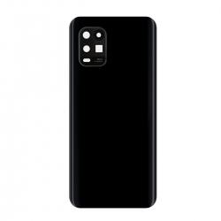 Vitre arrière compatible pour Xiaomi Mi 10 lite Noir photo 2