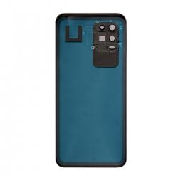 Vitre arrière compatible pour Xiaomi Mi 10 lite Noir photo 1