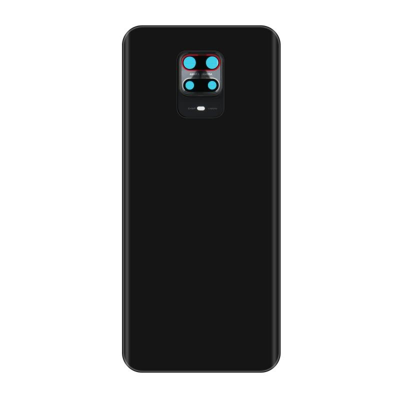 Vitre arrière compatible pour Xiaomi Redmi Note 9S Gris photo 2
