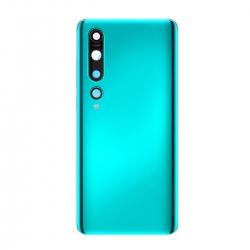 Vitre arrière compatible pour Xiaomi Mi 10 Vert photo 2