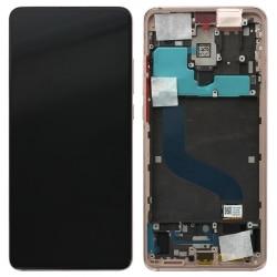 Bloc écran Amoled complet pré-assemblé pour Xiaomi Mi 9T et Mi 9T Pro Or