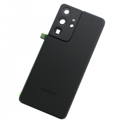 Vitre arrière pour Samsung Galaxy S21 Ultra Phantom Black_photo1