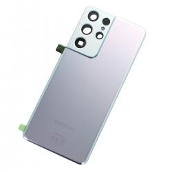 Vitre arrière pour Samsung Galaxy S21 Ultra Phantom Silver_photo1