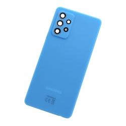 Vitre arrière pour Samsung Galaxy A52 Awesome Blue