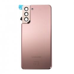 Vitre arrière pour Samsung Galaxy S21+ Phantom Gold_photo1