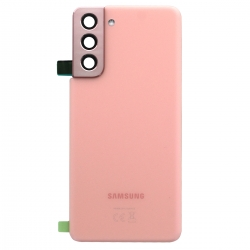 Vitre arrière pour Samsung Galaxy S21 Phantom Pink_photo1