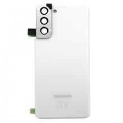 Vitre arrière pour Samsung Galaxy S21 Phantom White_photo1