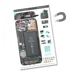 Patron magnétique d'aide au montage pour iPhone 12 Pro