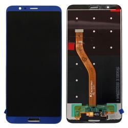 Ecran Bleu compatible avec vitre et LCD prémonté pour Huawei Honor View 10