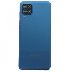 Coque arrière Bleue d'origine pour Samsung Galaxy A12_photo1