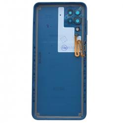 Coque arrière Bleue d'origine pour Samsung Galaxy A12_photo2