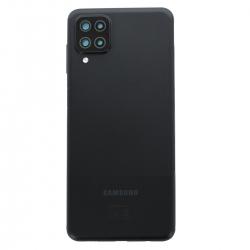 Coque arrière Noire d'origine pour Samsung Galaxy A12_photo1