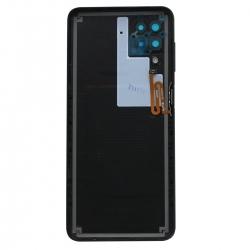 Coque arrière Noire d'origine pour Samsung Galaxy A12_photo2
