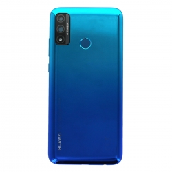 Coque arrière Bleue et lecteur d'empreintes pour Huawei P Smart 2020