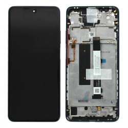 Bloc écran LCD et vitre pré-montés sur châssis pour Xiaomi Mi 10T Lite Gris_photo1
