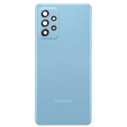 Vitre arrière pour Samsung Galaxy A72 Awesome Blue photo 1