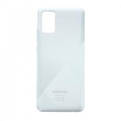 Coque arrière Blanche d'origine pour Samsung Galaxy A02s_photo1