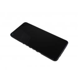 Bloc écran IPS LCD et vitre pré-montés sur châssis pour Xiaomi Redmi Note 9T Noir photo 1