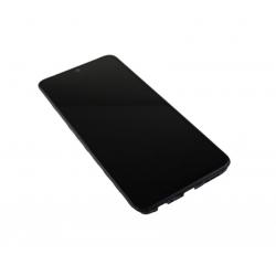 Bloc écran Super AMOLED et vitre pré-montés sur châssis pour Xiaomi Redmi Note 10 Noir photo 1