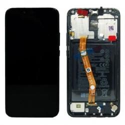Bloc écran IPS LCD complet pré-monté sur châssis + batterie pour Huawei P40 lite E Noir photo 1