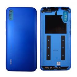 Coque arrière d'origine pour Xiaomi Redmi 9A Bleu photo 1