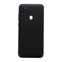Coque arrière Noire d'origine pour Samsung Galaxy M11_photo1