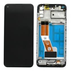 Bloc écran PLS LCD pré-monté sur châssis pour Samsung Galaxy M11_photo1