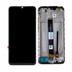 Bloc écran IPS LCD et vitre pré-montés sur châssis pour Xiaomi Redmi 9A