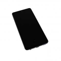 Bloc écran pré-monté sur châssis + batterie pour Samsung Galaxy A52 & A52 (5G) Blanc photo 1