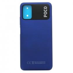 Coque arrière d'origine pour Xiaomi Poco M3 Bleu_photo1