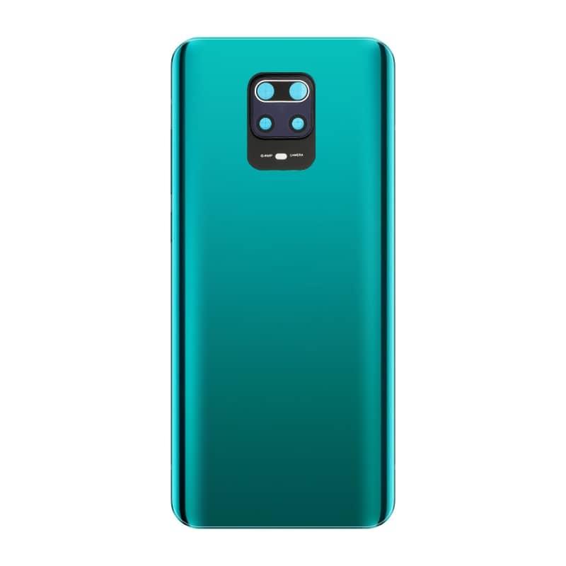 Vitre arrière compatible pour Xiaomi Redmi Note 9S Bleu aurora photo 1