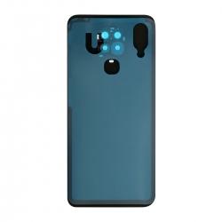 Vitre arrière compatible pour Xiaomi Redmi Note 9S Bleu aurora photo 2