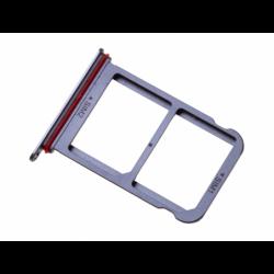 Rack tiroir 2 cartes SIM pour Huwei P20 Pro Bleu photo 1
