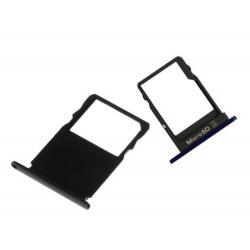 Rack SIM et SD pour Nokia 3 - Noir photo 0