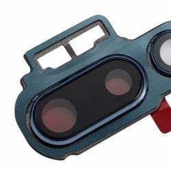 Lentille caméra arrière pour Huawei P20 Pro bleue photo 1
