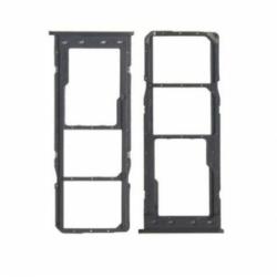 Rack SIM pour Samsung Galaxy A12 - Noir photo 0